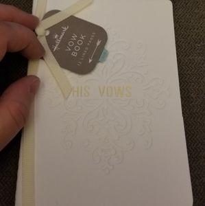 Vow book